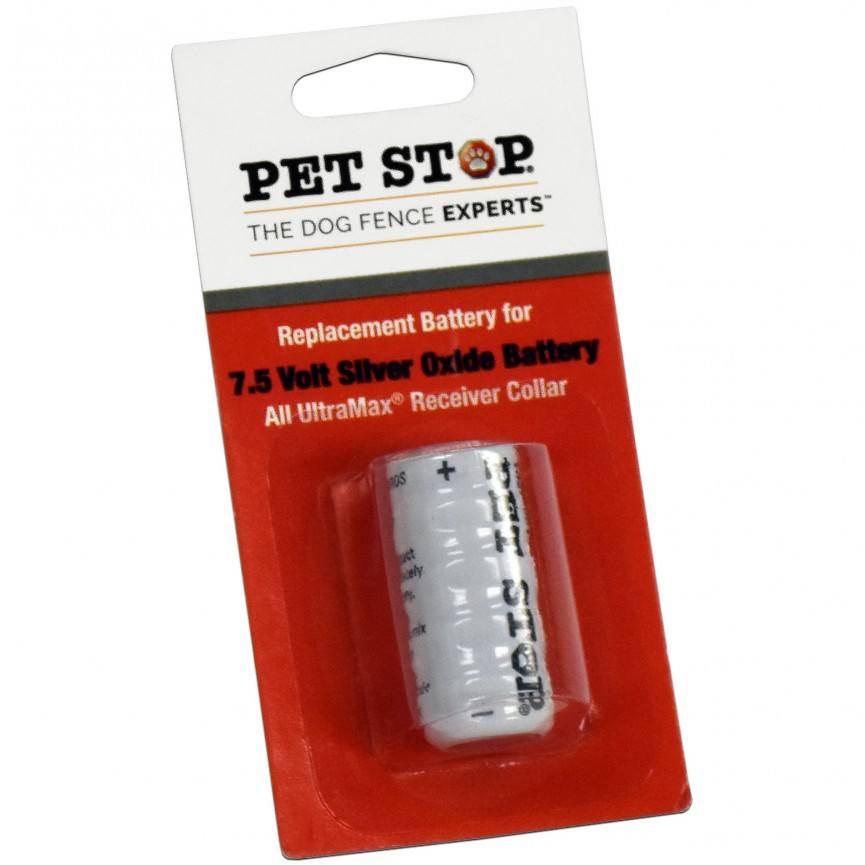 pet stop 7 5v replacement battery pa pet fences. Black Bedroom Furniture Sets. Home Design Ideas